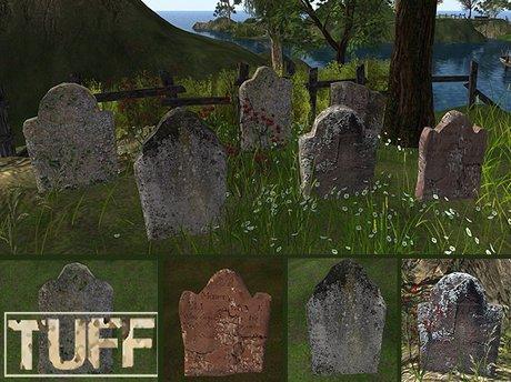 DD [TUFF] Old Gravestones lichen -BOX