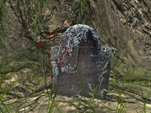 [TUFF] Old Gravestone 1 - Lichen