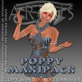 DD3*AC* Argus-Eyed Tantra Poppy Sparklies MAXI Pack